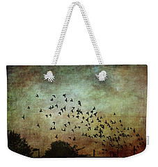 Weekender Tote Bag featuring the photograph Dark Kentucky Skies by Jan Amiss Photography