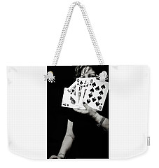Dark Lady Weekender Tote Bag by Bruce Carpenter