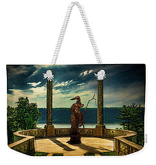 Weekender Tote Bag featuring the photograph Dark Magic At Sunset By The Hudson by Chris Lord