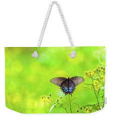 Dark Morph Female Tiger Swallowtail Butterfly Weekender Tote Bag