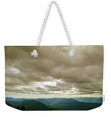 Dark Mountains Too Weekender Tote Bag