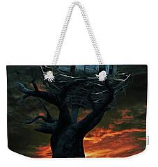 Dark Night Weekender Tote Bag by Mihaela Pater