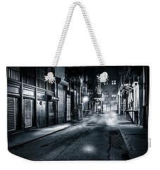 Dark Nyc Weekender Tote Bag