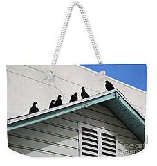 Dark Pigeons Weekender Tote Bag