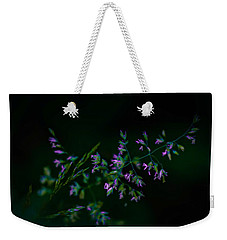 Weekender Tote Bag featuring the photograph Dark Pink by Michaela Preston