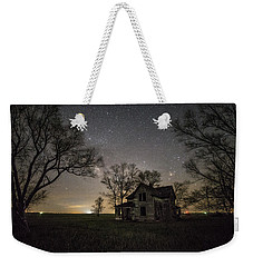 Dark Places On The Prairie  Weekender Tote Bag by Aaron J Groen