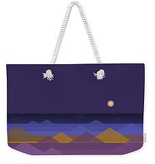 Dark Purple Sky Weekender Tote Bag