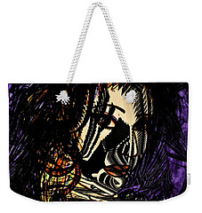 Dark Side Weekender Tote Bag by Natalie Holland