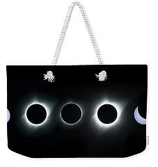 Dark Sun Weekender Tote Bag