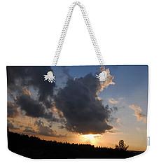 Dark Sunset Weekender Tote Bag by Isam Awad