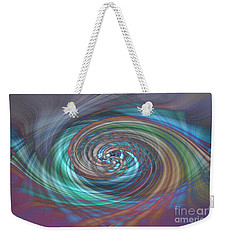 Dark Swirls Weekender Tote Bag