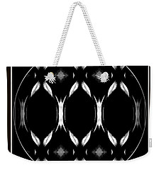 Weekender Tote Bag featuring the photograph Dark Symmetry by Jack Dillhunt