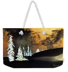 Dark Winter Weekender Tote Bag