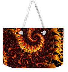 Darkness In Paradise Weekender Tote Bag