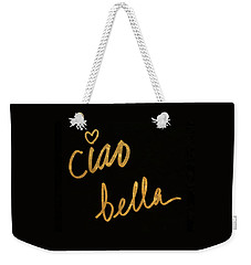 Darling Bella II Weekender Tote Bag by South Social Studio