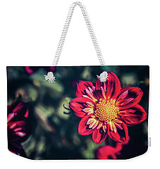 Darling Dahlia Weekender Tote Bag