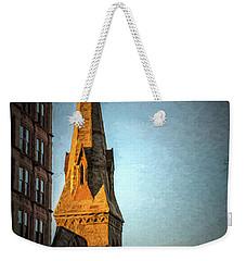Dartmouth Street In Boston Weekender Tote Bag