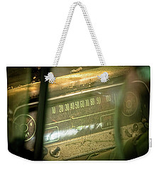 Dashboard Glow Weekender Tote Bag