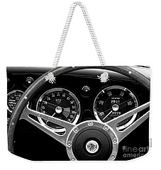 Weekender Tote Bag featuring the photograph Dashboard by Stephen Mitchell