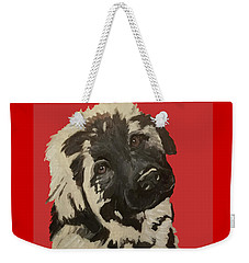 Date With Paint Sept 18 5 Weekender Tote Bag by Ania M Milo