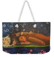 Daughter Of The Cosmos Weekender Tote Bag