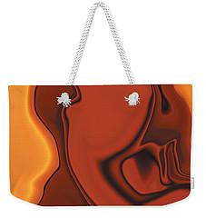 Weekender Tote Bag featuring the digital art Daughter Of Venus by Rabi Khan