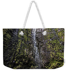 Dave And Elaine At Waimoku Falls Weekender Tote Bag