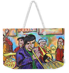 Dave Dickey Big Band Weekender Tote Bag