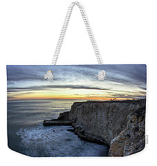 Davenport Bluffs At Sunset Weekender Tote Bag