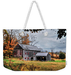 Davenport Farm - Connecticut Scenic Weekender Tote Bag
