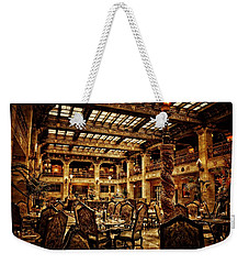 The Historic Davenport Hotel  Weekender Tote Bag