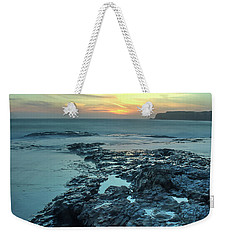 Davenport Landing Beach At Sunset Weekender Tote Bag