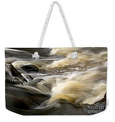 Weekender Tote Bag featuring the photograph Dave's Falls #7431 by Mark J Seefeldt