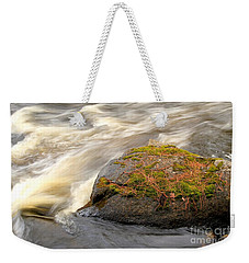 Weekender Tote Bag featuring the photograph Dave's Falls #7442 by Mark J Seefeldt