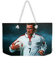 David Beckham Weekender Tote Bag by Paul Meijering