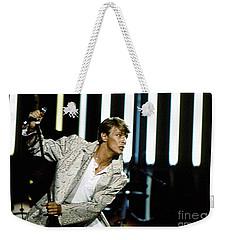 David Bowie Action Man Weekender Tote Bag