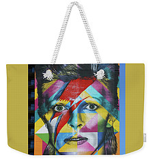 David Bowie Mural # 3 Weekender Tote Bag