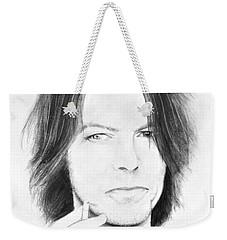 David Bowie - No Pressure Weekender Tote Bag