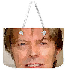 David Bowie Portrait Weekender Tote Bag