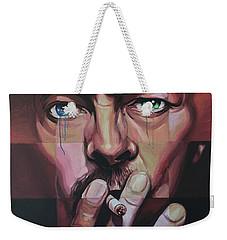 David Bowie Weekender Tote Bag by Steve Hunter