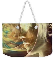 David Bowie / Transcendent Weekender Tote Bag