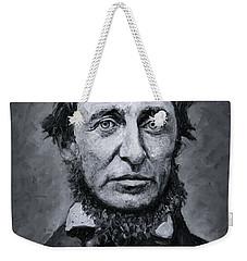 David Henry Thoreau Weekender Tote Bag