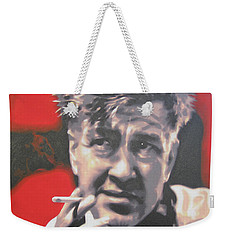 David Lynch Weekender Tote Bag by Luis Ludzska