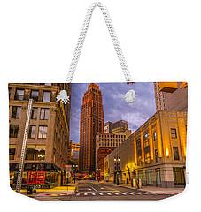 David Stott Building  Weekender Tote Bag