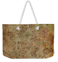Davidson College Map Weekender Tote Bag