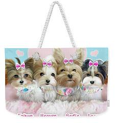 Davidson's Furbabies Weekender Tote Bag