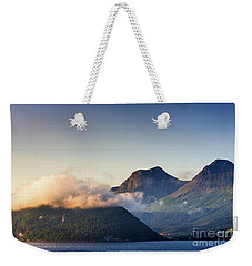 Dawn Along The Nordfjord  Weekender Tote Bag
