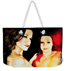 Dawn And Ryli 1 Weekender Tote Bag by Mark Baranowski