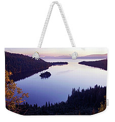Dawn At Emerald Bay, Lake Tahoe Weekender Tote Bag