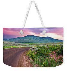 Dawn At Flattop Mountain Weekender Tote Bag